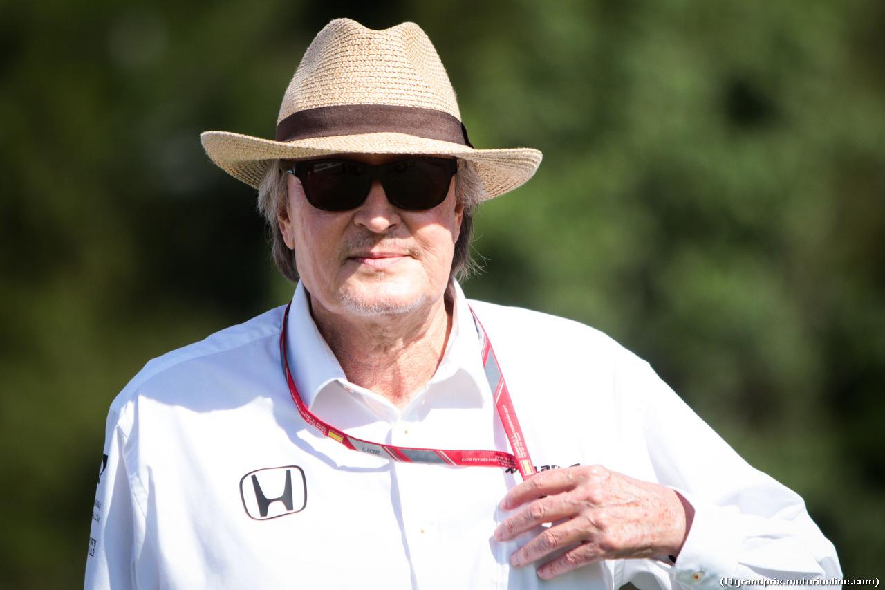 GP SPAGNA, Mansour Ojjeh, McLaren shareholder. 14.05.2017.