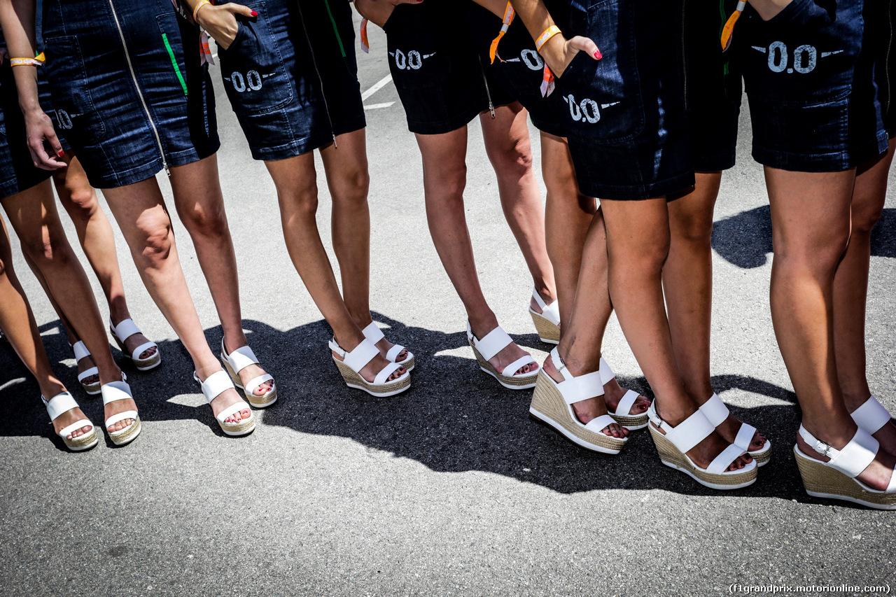 GP SPAGNA, griglia girls. 14.05.2017.
