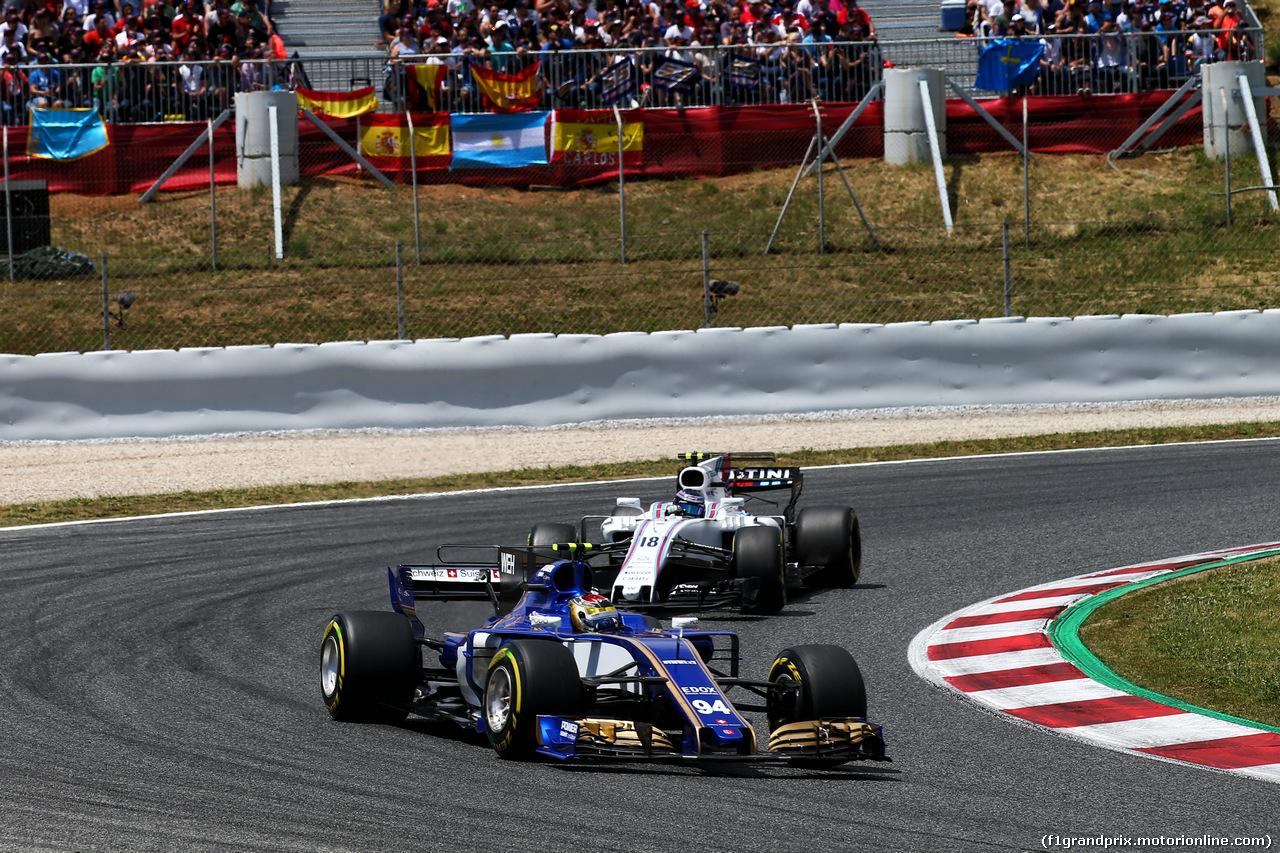 GP SPAGNA, Pascal Wehrlein (GER) Sauber C36. 14.05.2017.