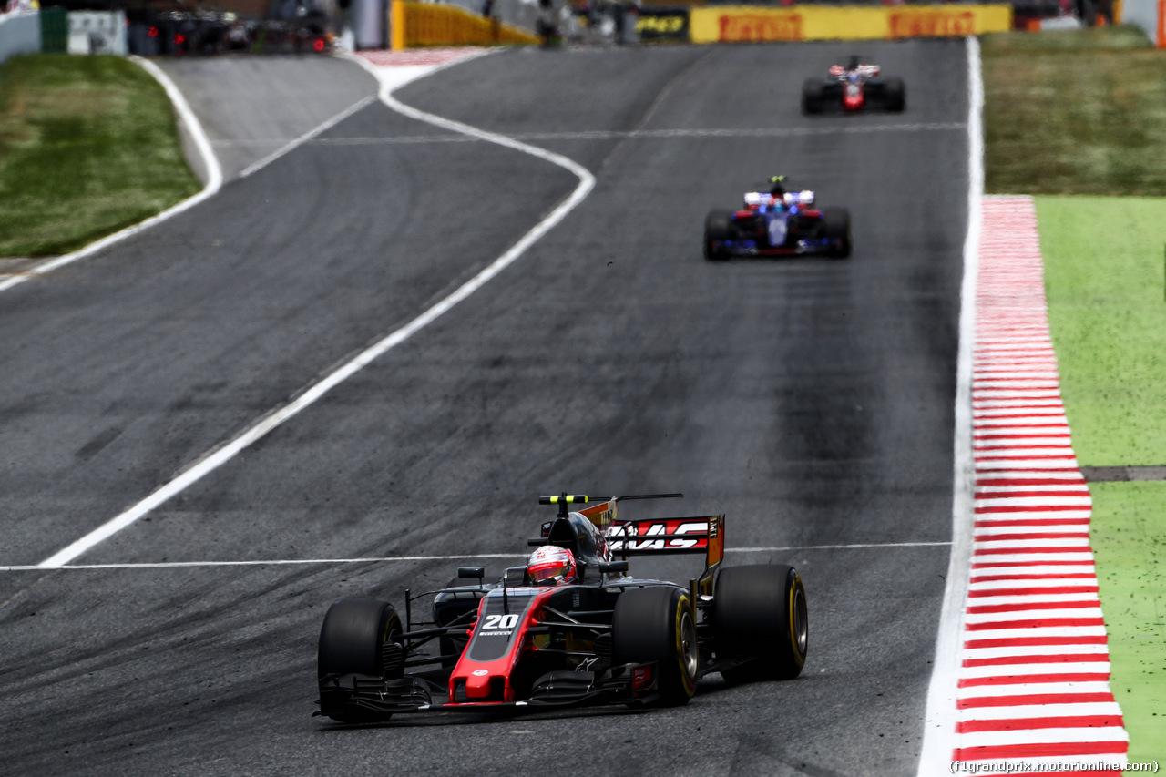 GP SPAGNA, Kevin Magnussen (DEN) Haas VF-17. 14.05.2017.