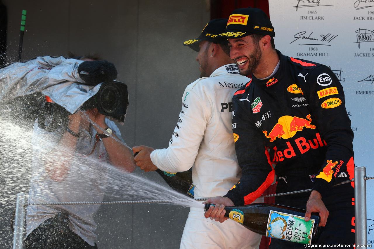 GP SPAGNA, 3rd place Daniel Ricciardo (AUS) Red Bull Racing RB13. 14.05.2017.