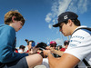 GP SPAGNA, Lance Stroll (CDN) Williams signs autographs for the fans. 14.05.2017.