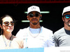 GP SPAGNA, (L to R): Michelle Yeoh (MAL) with Lewis Hamilton (GBR) Mercedes AMG F1 e Fernando Alonso (ESP) McLaren. 14.05.2017.