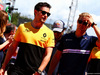 GP SPAGNA, (L to R): Jolyon Palmer (GBR) Renault Sport F1 Team e Marcus Ericsson (SWE) Sauber F1 Team on the drivers parade. 14.05.2017.