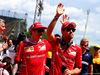 GP SPAGNA, (L to R): Kimi Raikkonen (FIN) Ferrari e Sebastian Vettel (GER) Ferrari on the drivers parade. 14.05.2017.