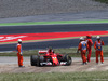 GP SPAGNA, Kimi Raikkonen (FIN) Ferrari SF70H retired from the race at the partenza. 14.05.2017.