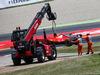 GP SPAGNA, Kimi Raikkonen (FIN) Ferrari SF70H retired from the race at the partenza. 14.05.2017.