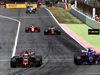 GP SPAGNA, Kevin Magnussen (DEN) Haas VF-17 e Carlos Sainz Jr (ESP) Scuderia Toro Rosso STR12 battle for position. 14.05.2017.