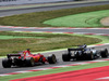 GP SPAGNA, Valtteri Bottas (FIN) Mercedes AMG F1 W08 e Sebastian Vettel (GER) Ferrari SF70H battle for position. 14.05.2017.