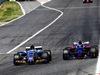 GP SPAGNA, Pascal Wehrlein (GER) Sauber C36 e Carlos Sainz Jr (ESP) Scuderia Toro Rosso STR12 battle for position. 14.05.2017.