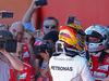 GP SPAGNA, Lewis Hamilton (GBR) Mercedes AMG F1  e Sebastian Vettel (GER) Ferrari  14.05.2017.