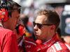 GP STATI UNITI, 22.10.2017 - Gara, Riccardo Adami (ITA) Ferrari Gara Engineer e Sebastian Vettel (GER) Ferrari SF70H