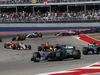 GP STATI UNITI, 22.10.2017 - Gara, Lewis Hamilton (GBR) Mercedes AMG F1 W08 e Valtteri Bottas (FIN) Mercedes AMG F1 W08