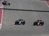 GP STATI UNITI, 22.10.2017 - Gara, Valtteri Bottas (FIN) Mercedes AMG F1 W08 e Daniel Ricciardo (AUS) Red Bull Racing RB13
