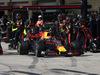 GP STATI UNITI, 22.10.2017 - Gara, Pit lane, Max Verstappen (NED) Red Bull Racing RB13