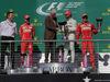 GP STATI UNITI, 22.10.2017 - Gara, James Allison (GBR) Mercedes AMG F1, Technical Director, 2nd place Sebastian Vettel (GER) Ferrari SF70H, Bill Clinton (USA), Lewis Hamilton (GBR) Mercedes AMG F1 W08 vincitore e 3rd place Kimi Raikkonen (FIN) Ferrari SF70H