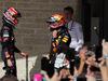 GP STATI UNITI, 22.10.2017 - Gara, Daniil Kvyat (RUS) Scuderia Toro Rosso STR12 e Max Verstappen (NED) Red Bull Racing RB13