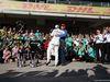 GP STATI UNITI, 22.10.2017 - Gara, Festeggiamenti, Lewis Hamilton (GBR) Mercedes AMG F1 W08 vincitore e Nikki Lauda (AU), Mercedes