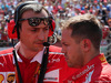GP UNGHERIA, 30.07.2017 - Riccardo Adami (ITA) Ferrari Gara Engineer e Sebastian Vettel (GER) Ferrari SF70H