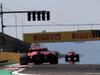 GP UNGHERIA, 30.07.2017 - Gara, Kimi Raikkonen (FIN) Ferrari SF70H e Sebastian Vettel (GER) Ferrari SF70H