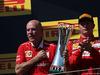 GP UNGHERIA, 30.07.2017 - Gara, Jock Clear (GBR) Ferrari Engineering Director e 2nd place Kimi Raikkonen (FIN) Ferrari SF70H