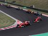 GP UNGHERIA, 30.07.2017 - Gara, Sebastian Vettel (GER) Ferrari SF70H e Kimi Raikkonen (FIN) Ferrari SF70H