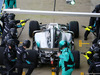 MERCEDES W08 HYBRID, Lewis Hamilton (GBR) Mercedes AMG F1 W08 practices a pit stop. 23.02.2017.
