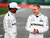 MERCEDES W08 HYBRID, (L to R): Lewis Hamilton (GBR) Mercedes AMG F1 with team mate Valtteri Bottas (FIN) Mercedes AMG F1. 23.02.2017.