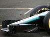 MERCEDES W08 HYBRID, Mercedes AMG F1 W08 front wing. 23.02.2017.