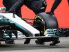 MERCEDES W08 HYBRID, Mercedes AMG F1 W08 rear wing. 23.02.2017.