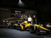 RENAULT RS17, (L to R): Nico Hulkenberg (GER) Renault Sport F1 Team with Jolyon Palmer (GBR) Renault Sport F1 Team; Cyril Abiteboul (FRA) Renault Sport F1 Managing Director; Sergey Sirotkin (RUS) Renault Sport F1 Team Third Driver, e the Renault Sport F1 Team RS17. 21.02.2017.