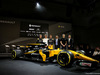 RENAULT RS17, (L to R): Nico Hulkenberg (GER) Renault Sport F1 Team with Pepijn Richter, Microsoft Director of Product Marketing; Jolyon Palmer (GBR) Renault Sport F1 Team; Mandhir Singh, Castol COO; Sergey Sirotkin (RUS) Renault Sport F1 Team Third Driver; Tommaso Volpe, Infiniti Global Director of Motorsport, e the Renault Sport F1 Team RS17. 21.02.2017.