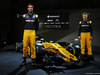 RENAULT RS17, (L to R): Jolyon Palmer (GBR) Renault Sport F1 Team with team mate Nico Hulkenberg (GER) Renault Sport F1 Team e the Renault Sport F1 Team RS17. 21.02.2017.