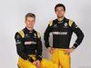 RENAULT RS17, (L to R): Nico Hulkenberg (GER) Renault Sport F1 Team with team mate Jolyon Palmer (GBR) Renault Sport F1 Team. 21.02.2017.