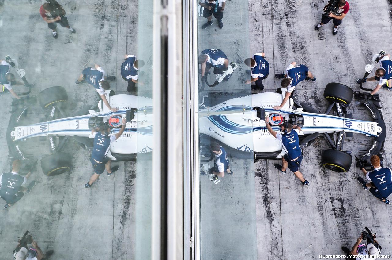 TEST ABU DHABI 28 NOVEMBRE, Robert Kubica (POL), Williams F1 Team .  28.11.2017.