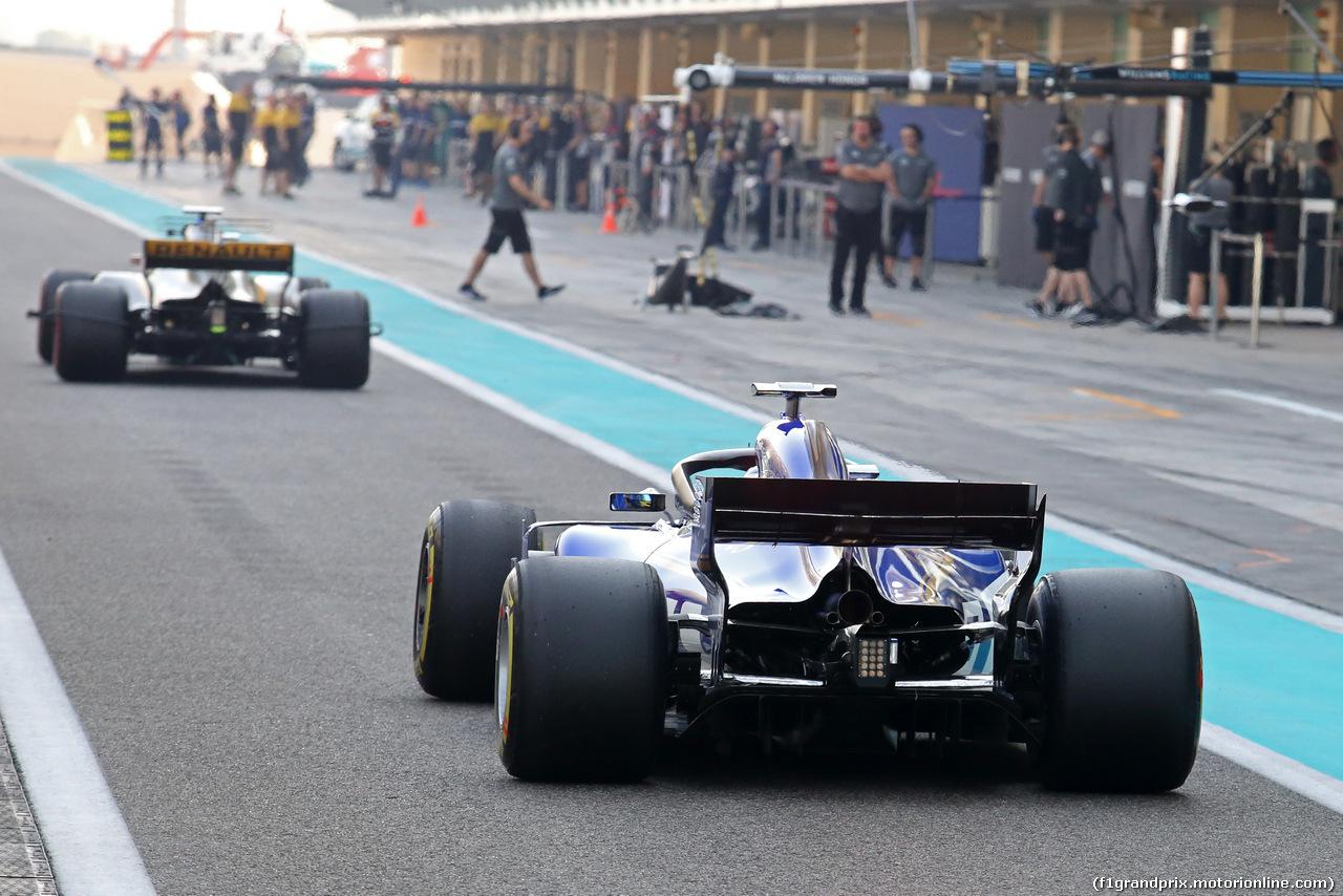 TEST ABU DHABI 28 NOVEMBRE, Marcus Ericsson (SWE) Sauber F1 Team  28.11.2017.