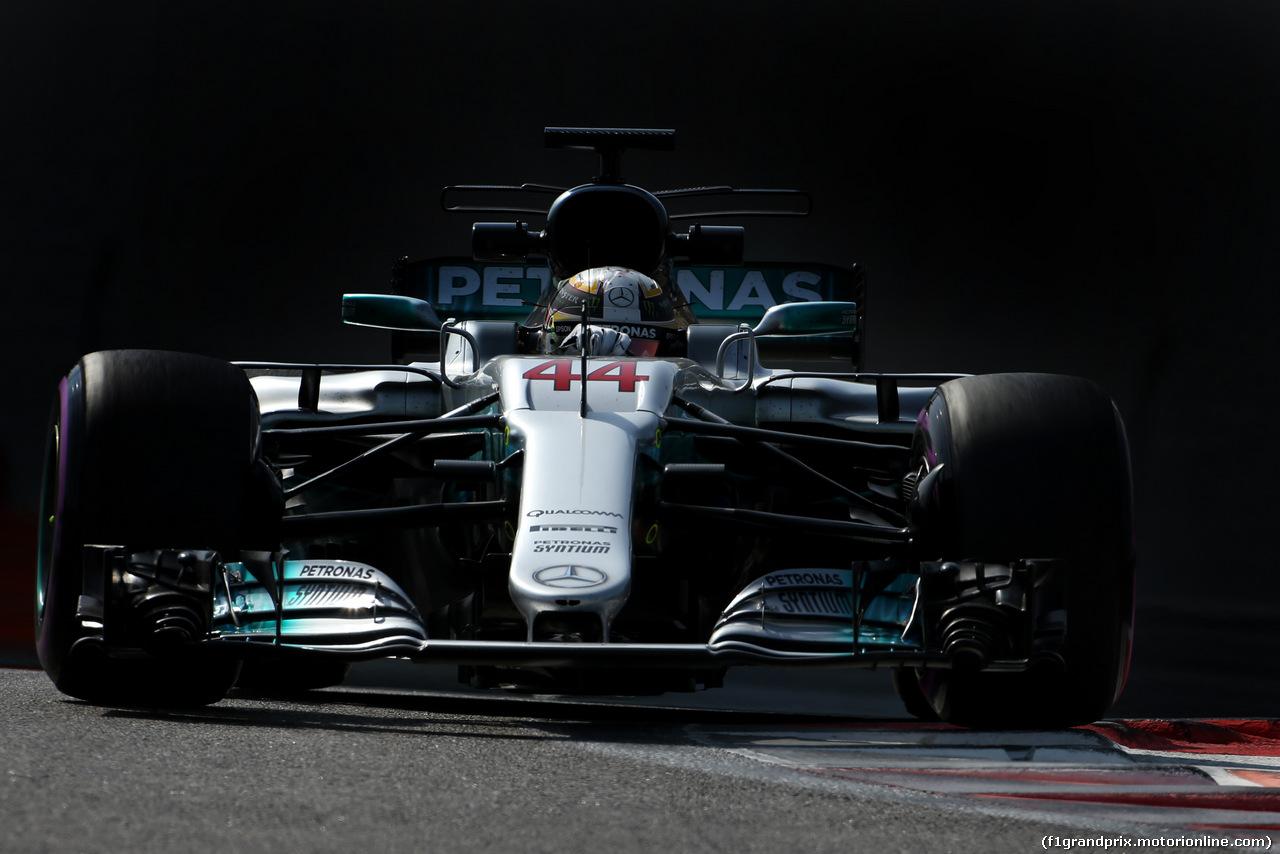 TEST ABU DHABI 28 NOVEMBRE, Lewis Hamilton (GBR) Mercedes AMG F1   28.11.2017.