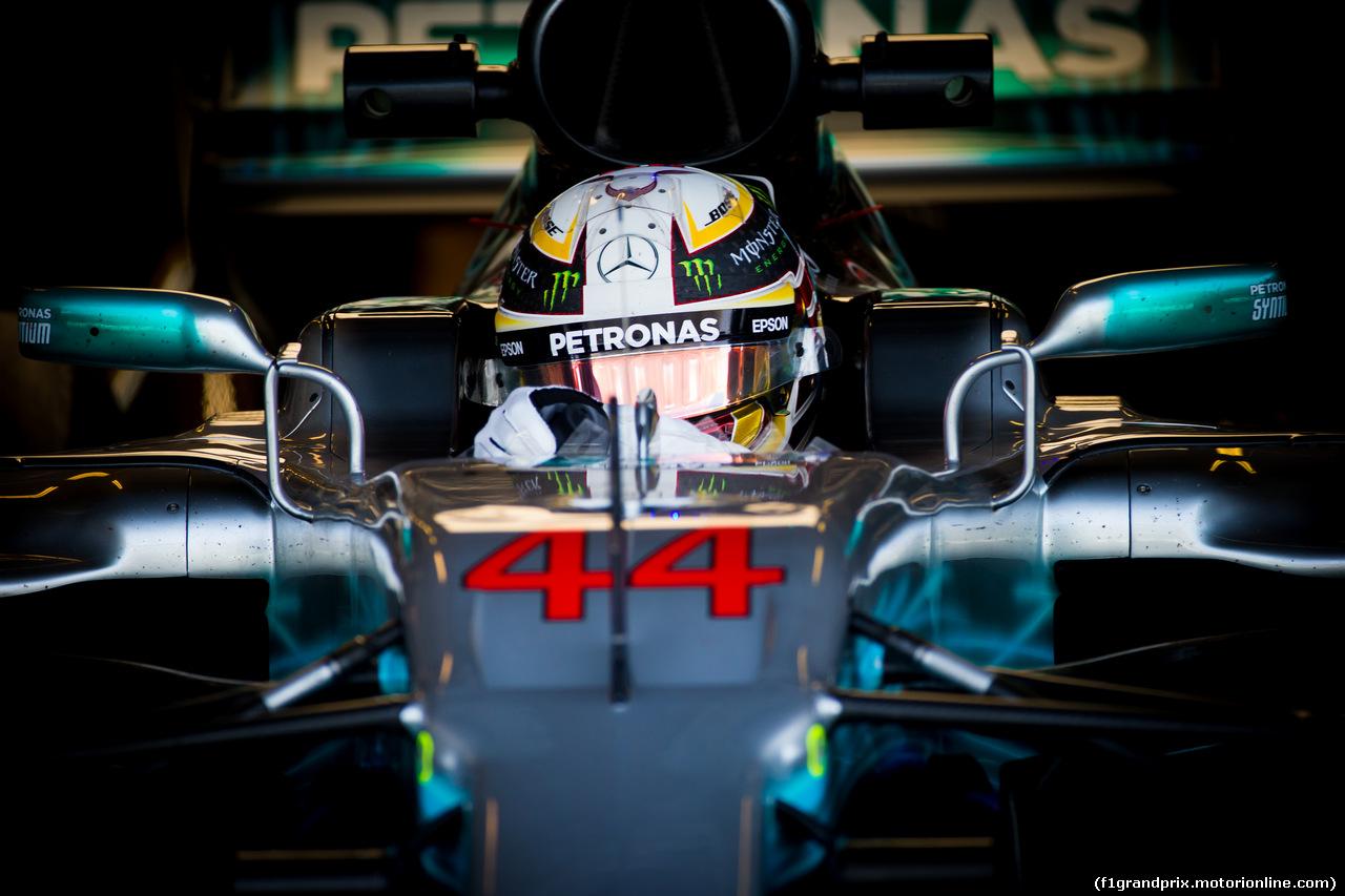TEST ABU DHABI 28 NOVEMBRE, Lewis Hamilton (GBR) Mercedes AMG F1 W08. 28.11.2017.