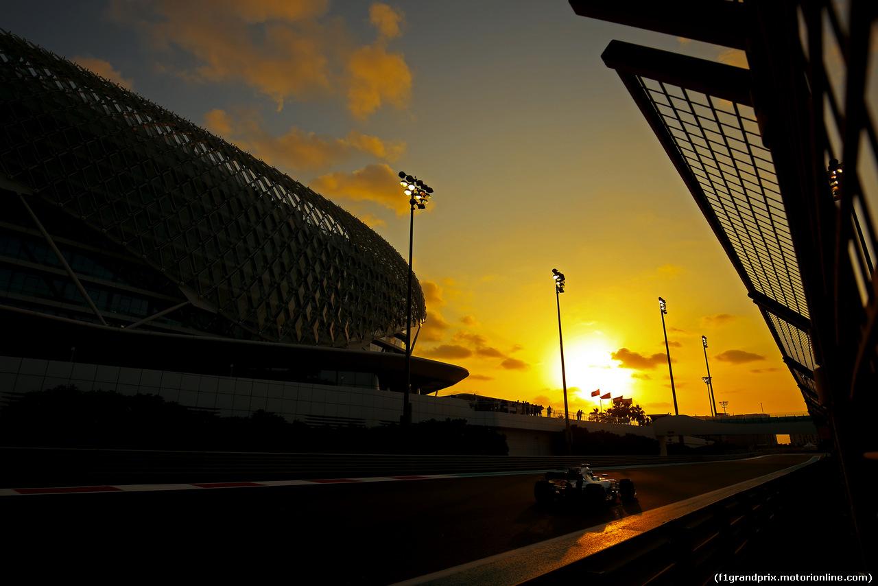 TEST ABU DHABI 28 NOVEMBRE, Lance Stroll (CDN) Williams F1 Team  28.11.2017.