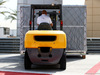 TEST F1 BAHRAIN 18 APRILE, Freight in the paddock delayed the partenza of testing. 18.04.2017.