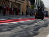 TEST F1 BAHRAIN 18 APRILE, A fork lift truck in the paddock. 18.04.2017.