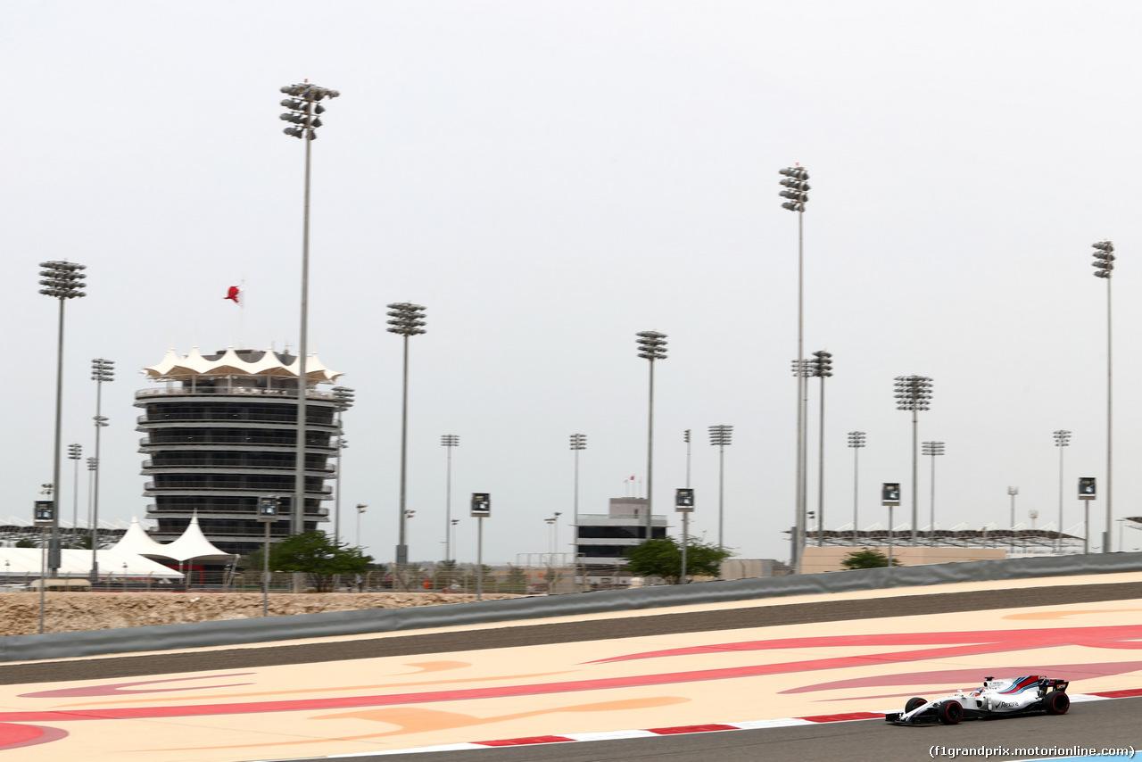 TEST F1 BAHRAIN 19 APRILE, Gary Paffett (GBR), Williams Racing Team   19.04.2017.