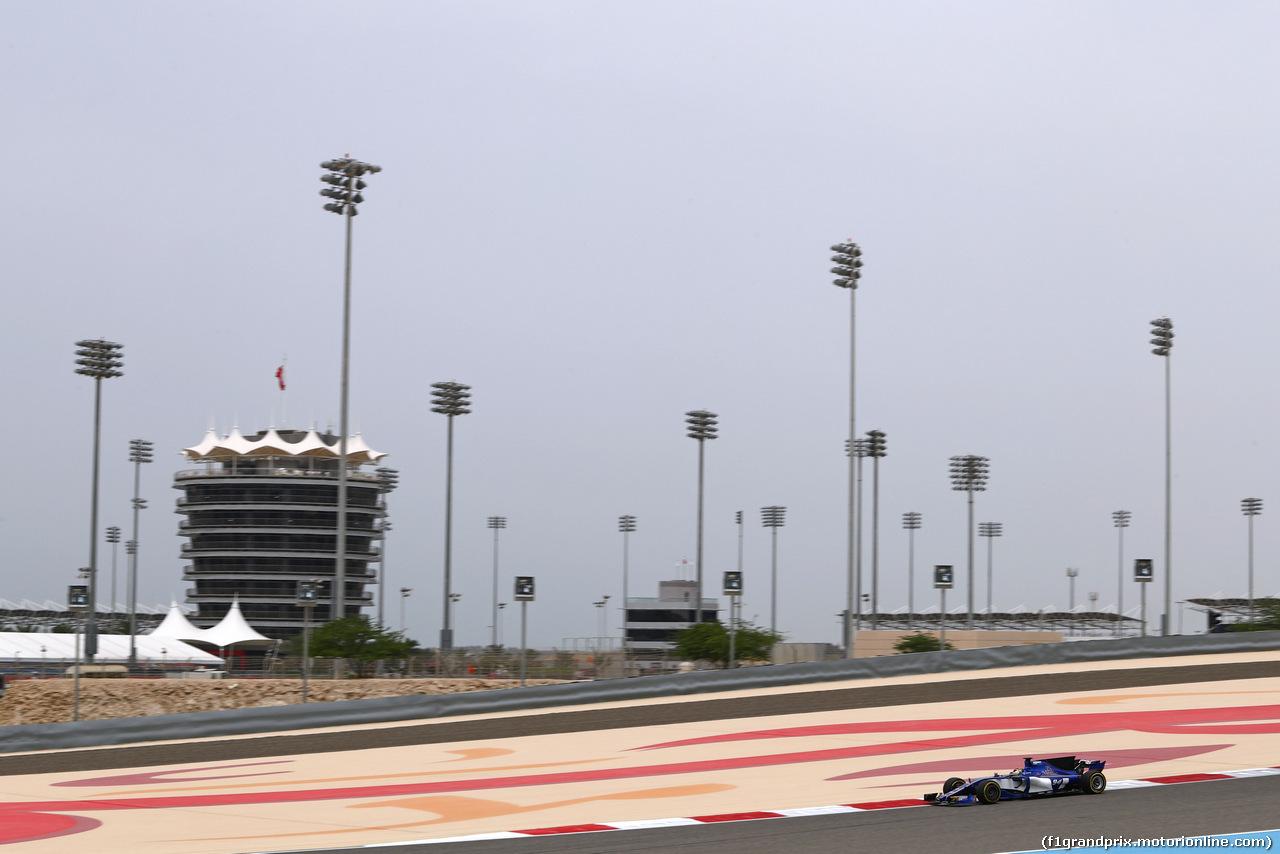TEST F1 BAHRAIN 19 APRILE, Pascal Wehrlein (GER) Sauber F1 Team  19.04.2017.