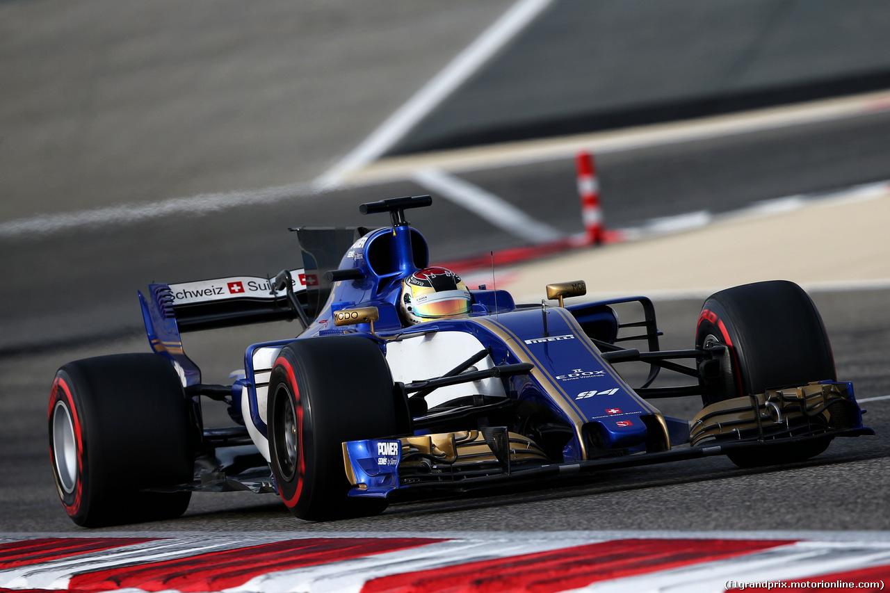 TEST F1 BAHRAIN 19 APRILE, Pascal Wehrlein (GER) Sauber C36. 19.04.2017.