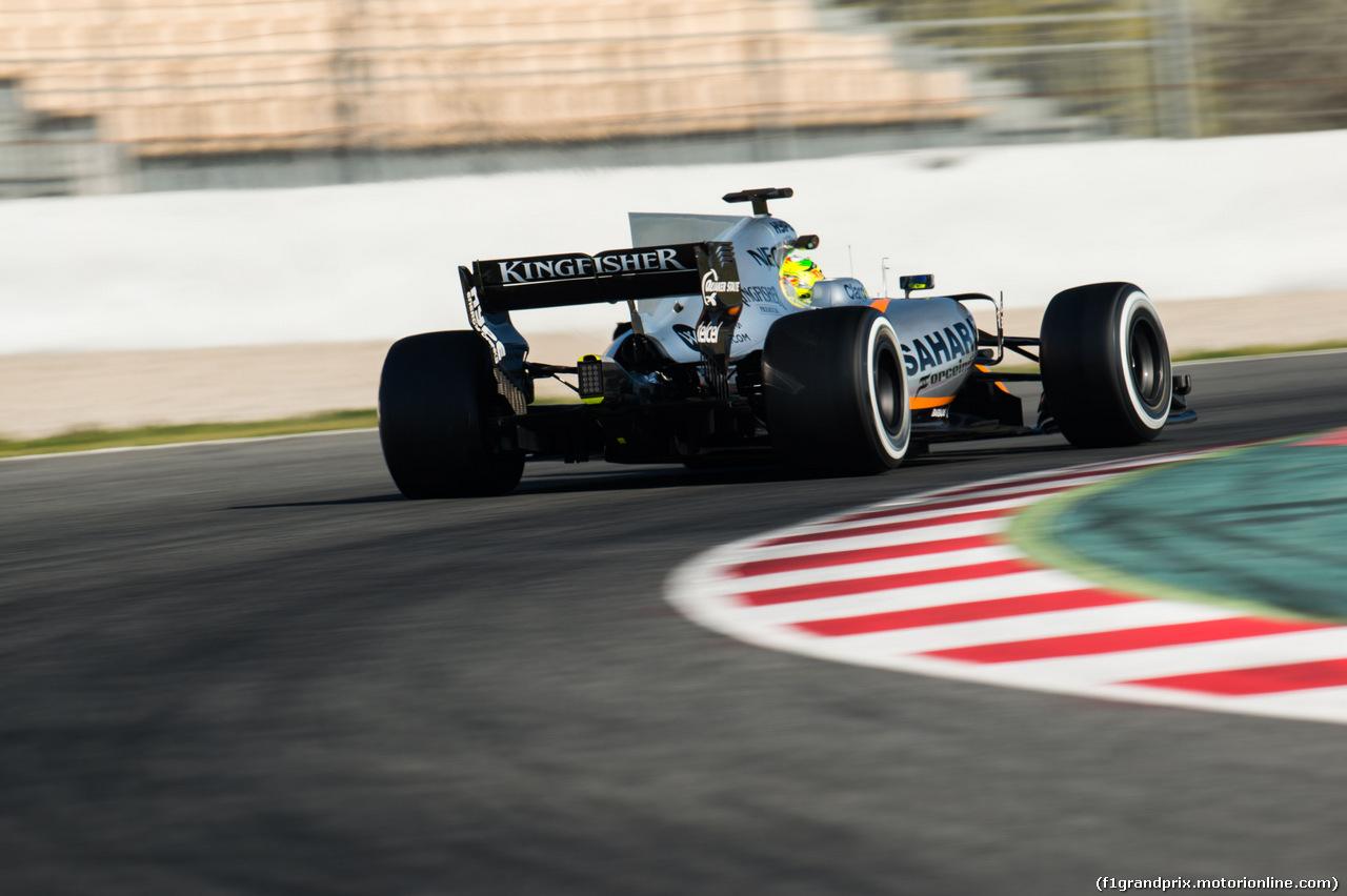 TEST F1 BARCELLONA 10 MARZO