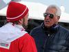 TEST F1 BARCELLONA 1 MARZO, (L to R): Gino Rosato (CDN) Ferrari with Lawrence Stroll (CAN), father of Lance Stroll (CDN) Williams
