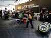 TEST F1 BARCELLONA 27 FEBBRAIO, Pirelli tecnician working on Mercedes AMG F1 tyres. 27.02.2017.