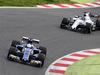 TEST F1 BARCELLONA 28 FEBBRAIO, Antonio Giovinazzi (ITA) Sauber C36 davanti a Lance Stroll (CDN) Williams FW40. 28.02.2017.