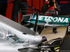 TEST F1 BARCELLONA 28 FEBBRAIO, Mercedes AMG F1 W08 T-wing on the engine cover. 28.02.2017.