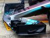 TEST F1 BARCELLONA 28 FEBBRAIO, Mercedes AMG F1 W08 front wing. 28.02.2017.